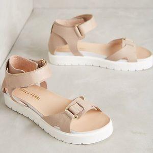 Paola Ferri by Anthropologie Flatform Sandals